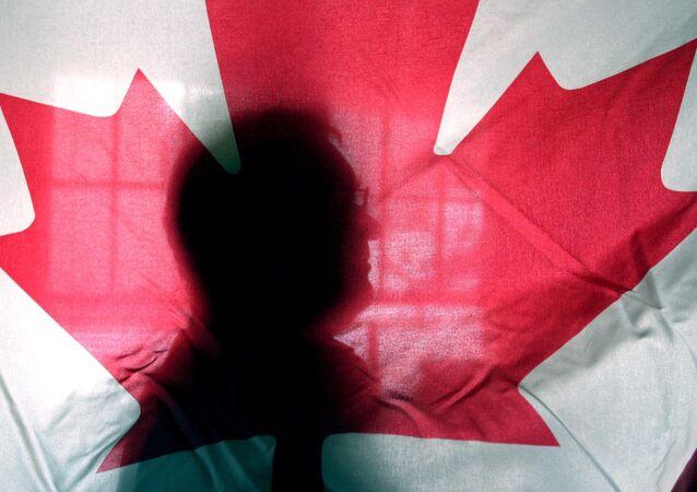 Stemma della bandiera canadese