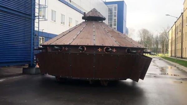 Il carro armato di Leonardo Da Vinci. - Sputnik Italia