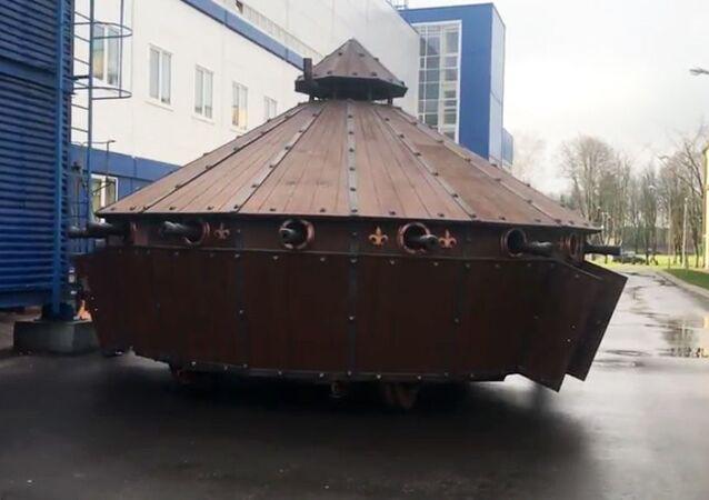 Il carro armato di Leonardo Da Vinci.