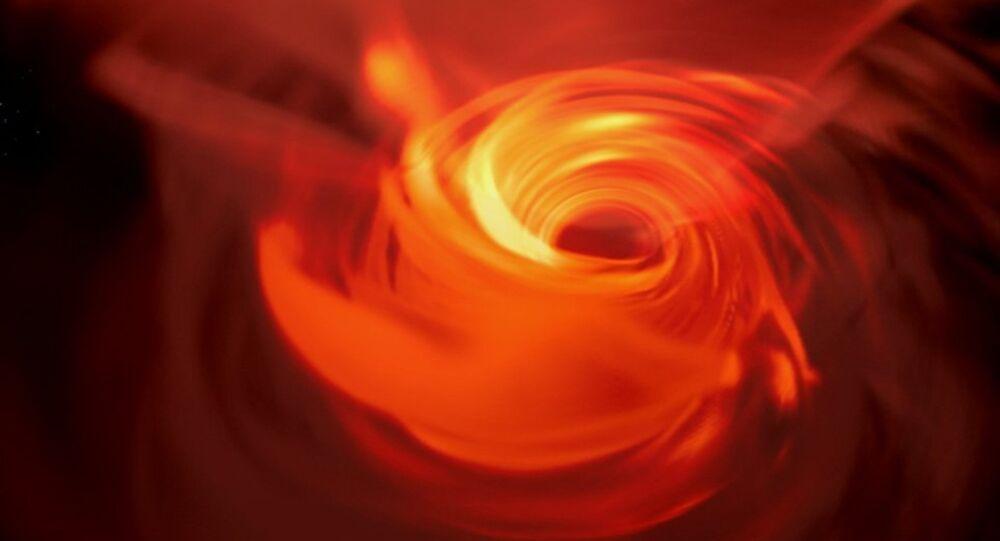 Gli astronomi creano una riproduzione VR del buco nero al centro della galassia