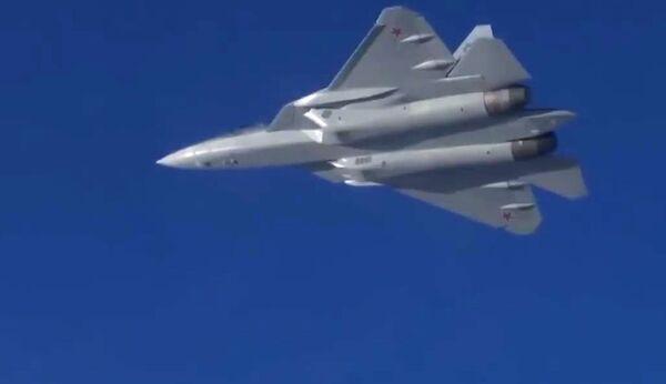 Altro che simulatore! In Siria volano i nuovi SU-57 russi - Sputnik Italia
