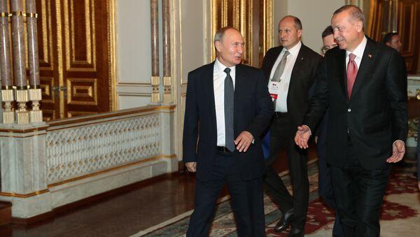 Vladimir Purin e Tayyip Erdogan - Sputnik Italia