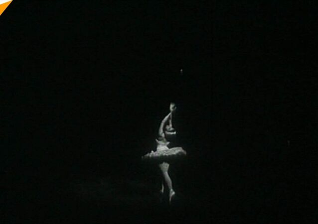La ballerina Maya Plisetskaya