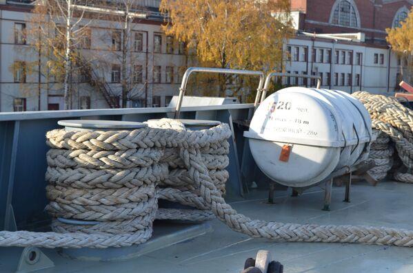 A bordo della Ammiraglio Kasatonov - Sputnik Italia