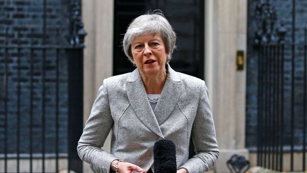 Theresa May - Sputnik Italia