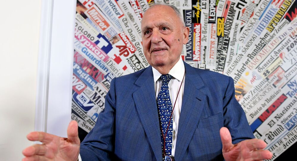 Il ministro degli Affari europei Paolo Savona