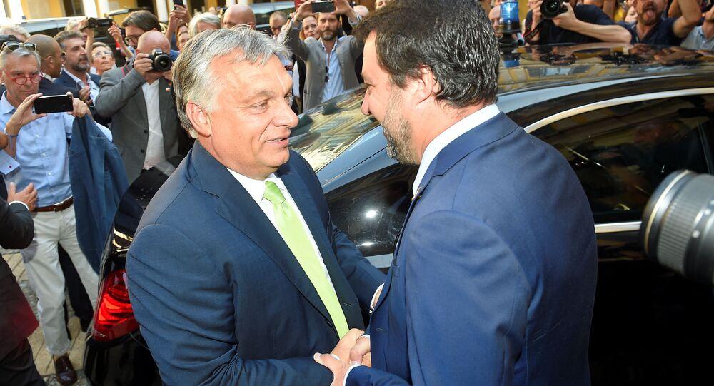 Viktor Orban e Matteo Salvini