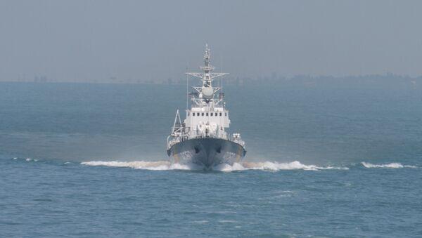 La nave Grygory Kuropyatnikov della Marina ucraina - Sputnik Italia