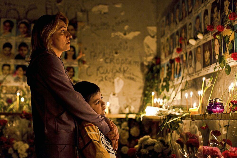 Commemorazione per il quindo anno dalla strage di Beslan - Ossezia del Nord