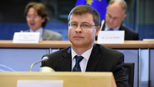 Vice presidente della Commissione Ue Valdis Dombrovskis - Sputnik Italia