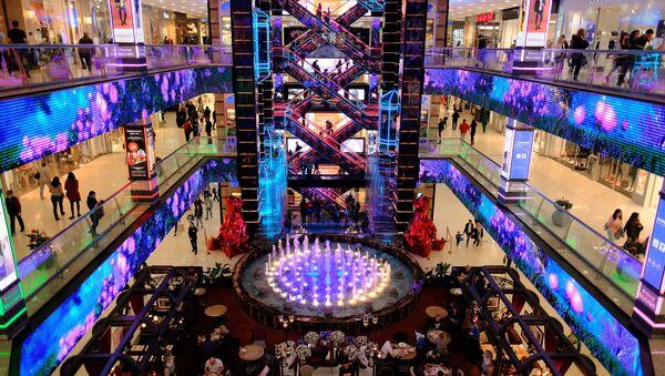 Il centro commerciale Europeisky a Mosca - Sputnik Italia