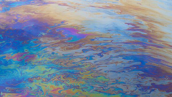 Нефтяное пятно на воде - Sputnik Italia