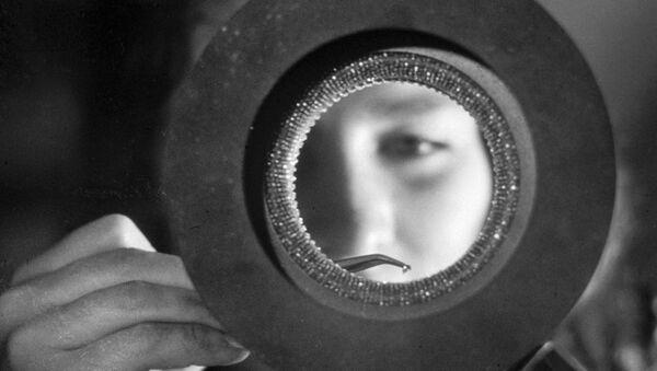 Lavorazine del diamante da taglio - Cabardino Balcaria - Sputnik Italia