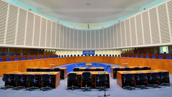 Aula della Corte Europea dei Diritti Umani - Sputnik Italia