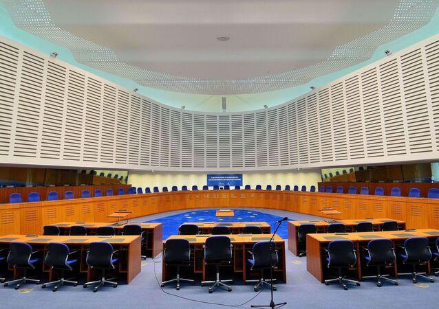 Aula della Corte Europea dei Diritti Umani
