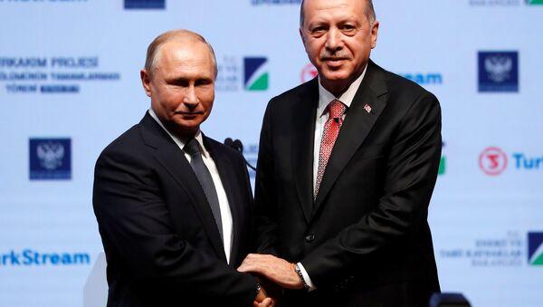 Erdogan e Putin, il 19 novembre 2018 - Sputnik Italia