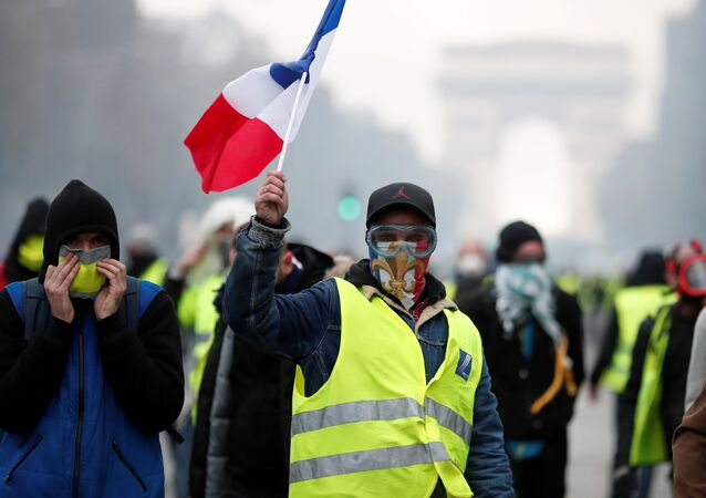 Proteste dei gilet gialli in Francia