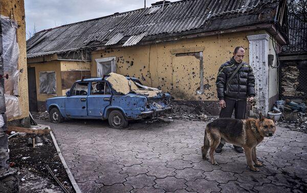 Donbass stories Spartak - Giorgio Bianchi - Sputnik Italia