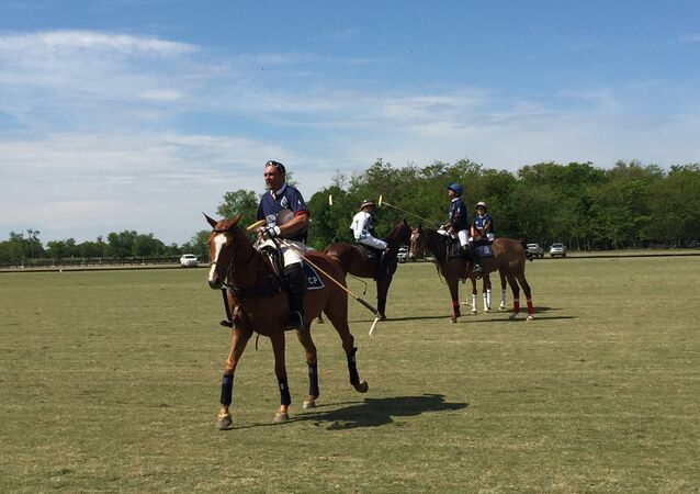 Partita di polo in Argentina