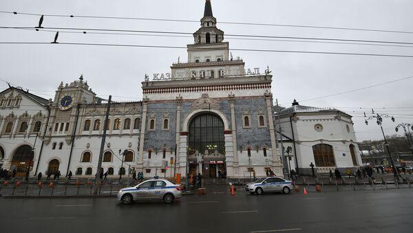 Здание Казанского вокзала в Москве - Sputnik Italia