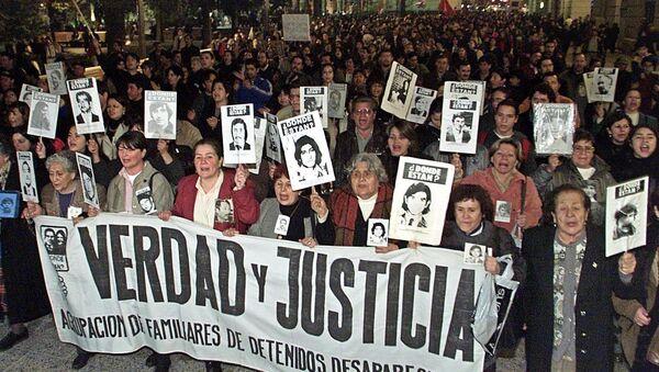 I parenti delle vittime del regime di Pinochet - Sputnik Italia