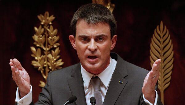 Il primo ministro francese Manuel Valls - Sputnik Italia