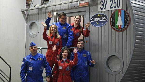 Membri della simulazione SIRIUS-17 a Mosca - Sputnik Italia