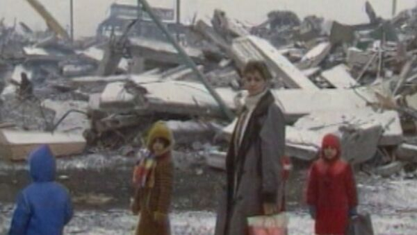 Il terremoto di Spitak - Sputnik Italia