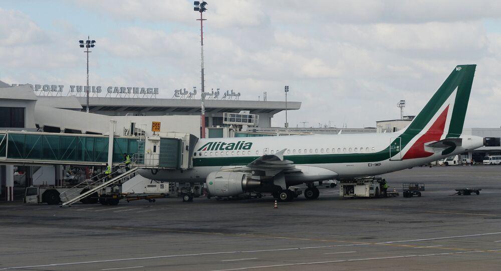 Aereo di Alitalia