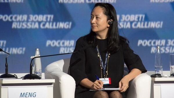 Huawei's Executive Board Director Meng Wanzhou attends the VTB Capital Investment Forum Russia Calling! in Moscow - Sputnik Italia