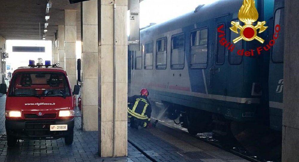 Treno in avaria in Toscana