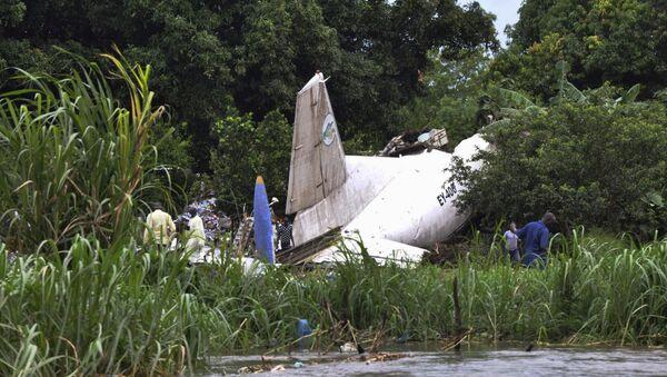 Un aereo schiantato in Sudan del Sud (foto d'archivio) - Sputnik Italia