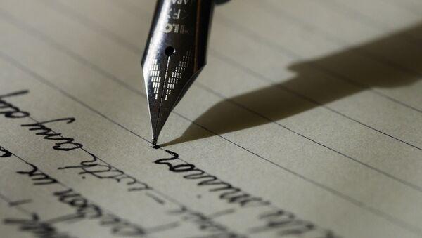 Lettera scritta a mano - Sputnik Italia