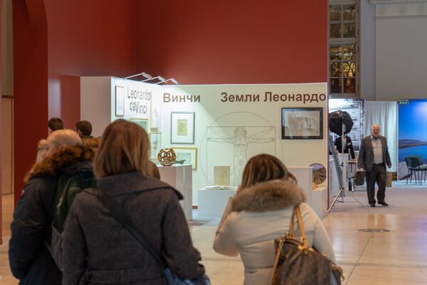 Visitatori nei padiglioni della mostra Buongiorno Italia - Sputnik Italia