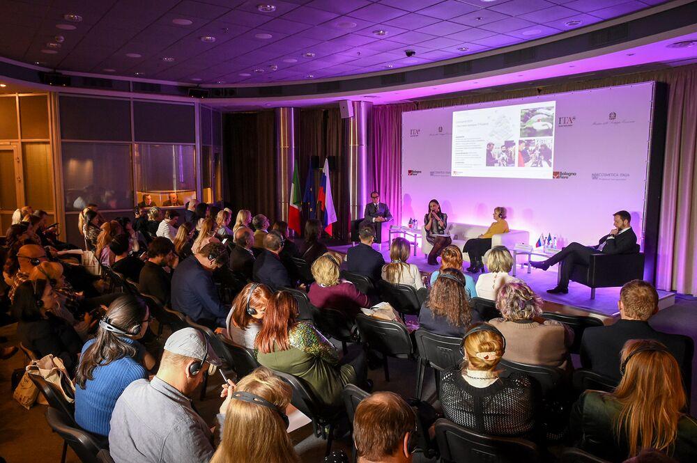 La presentazione di Cosmoprof Bologna alla fiera Buongiorno Italia
