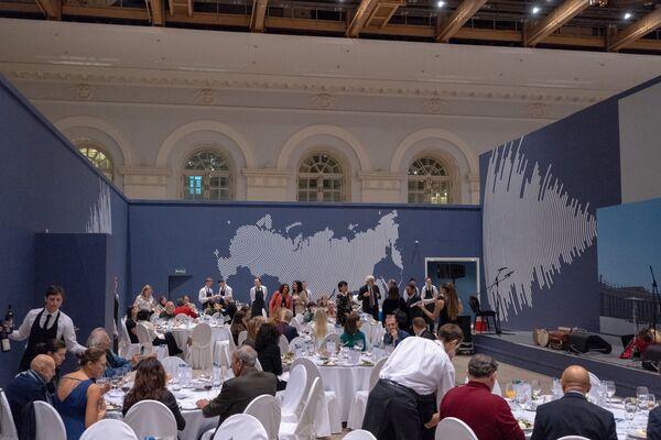 La cena delle regioni Puglia e Lombardia organizzata dall'Enit Mosca - Sputnik Italia