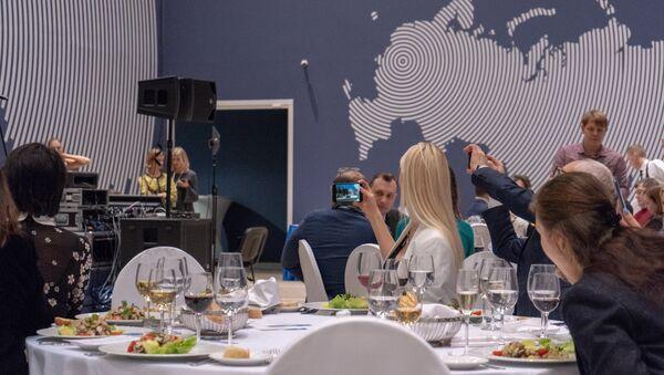 La cena conclusiva della fiera Buongiorno Italia, organizzata dall'ENIT in collaborazione con le regioni Puglia e Lombardia - Sputnik Italia