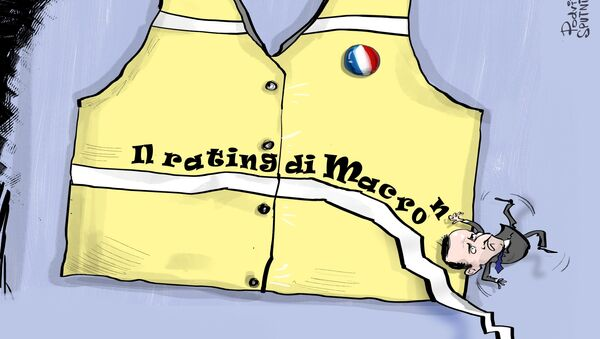 Il rating di Macron - Sputnik Italia