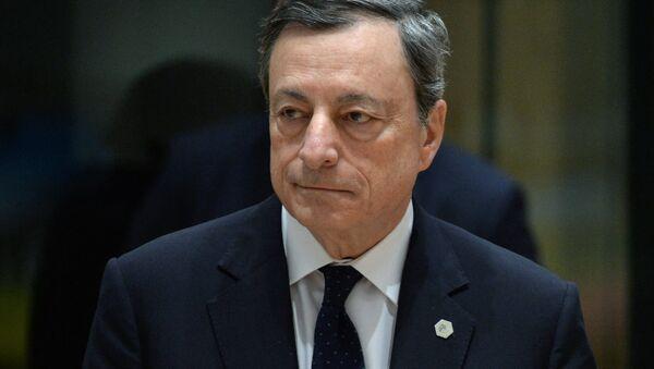 Presidente della Bce Mario Draghi - Sputnik Italia