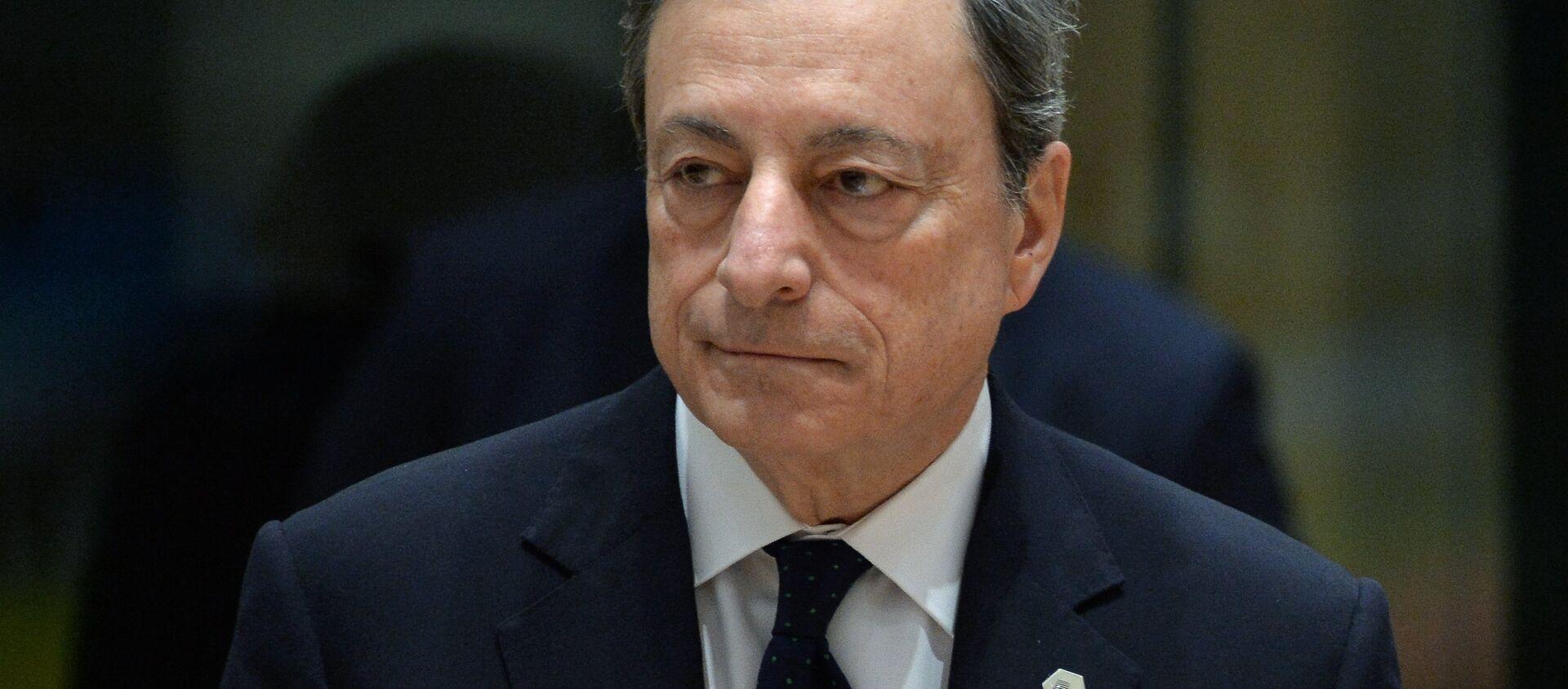 Presidente della Bce Mario Draghi - Sputnik Italia, 1920, 08.02.2021