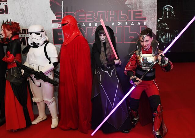 Moscow premiere of Star Wars: The Last Jedi