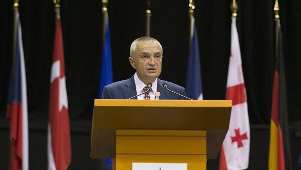 Il presidente dell'Albania Ilir Meta - Sputnik Italia