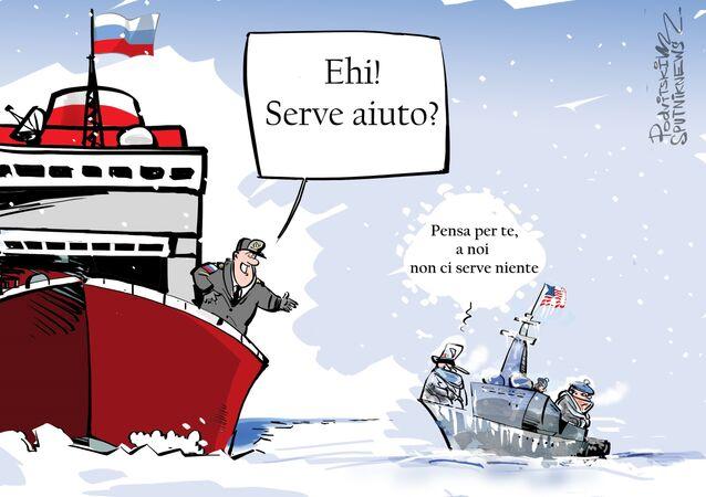 USA rinunciano a esercitazioni nell'Artico per non chiedere aiuto alla Russia