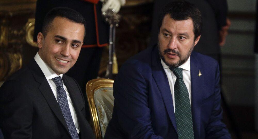 Matteo Salvini e Luigi Di Maio