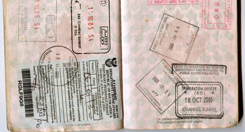Un passaporto vissuto