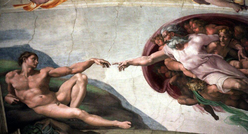 L'affresco La Creazione della cappella Sistina