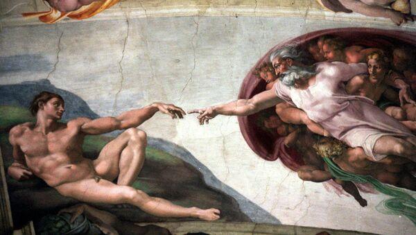 L'affresco La Creazione della cappella Sistina - Sputnik Italia