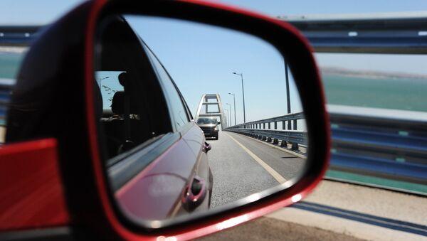 Il Ponte di Crimea - vista artistica - Sputnik Italia
