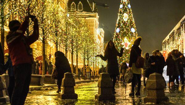 Atmosfera natalizia a Mosca - Sputnik Italia