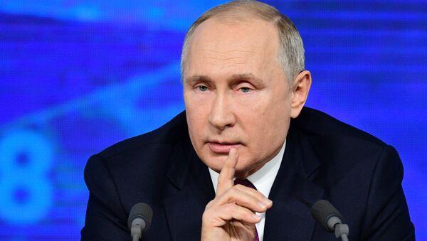 Il presidente Vladimir Putin - Sputnik Italia